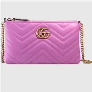 Pink Gucci GG Crossbody